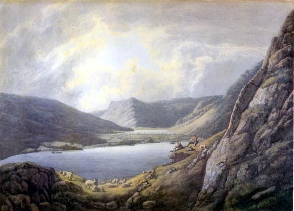 A picture of Crummock and Buttermere by William Green