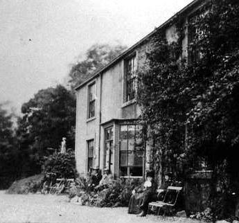 A photograph of Scale Hill Hotel, 1899