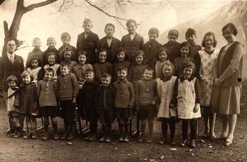 a photograph of the pupils of Loweswater School 1930