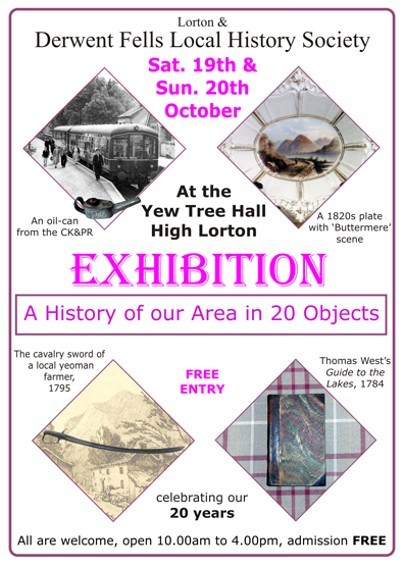Objects exhibition poster.