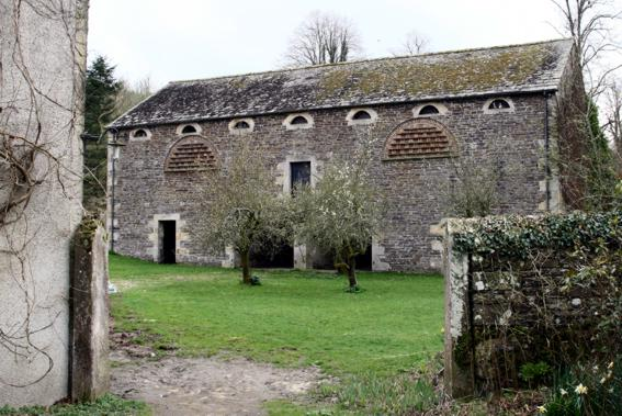 A view of the barn at Dunthwaite House.